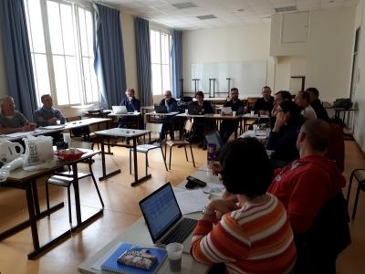 Avril 2018, une dizaine d'experts réunis à Paris pour concevoir les IAE de la plateforme CA-SYS !