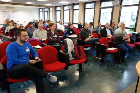 Fév 2018, des experts à l'INRA pour concevoir les systèmes agroécologiques de la plateforme CA-SYS !