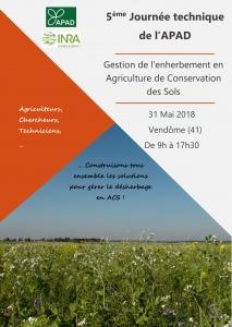 Mai 2018, la plateforme CA-SYS se présente aux agriculteurs en agriculture de conservation des sol