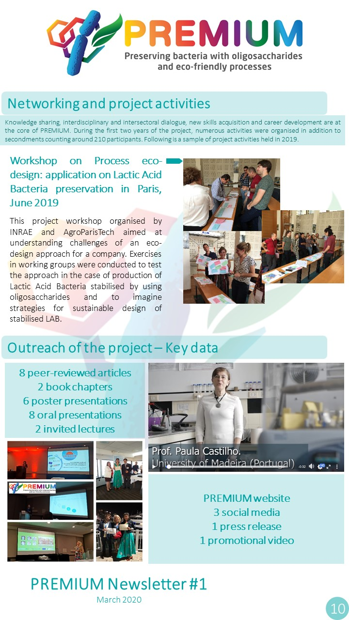 Page 10 - Networking and project activities