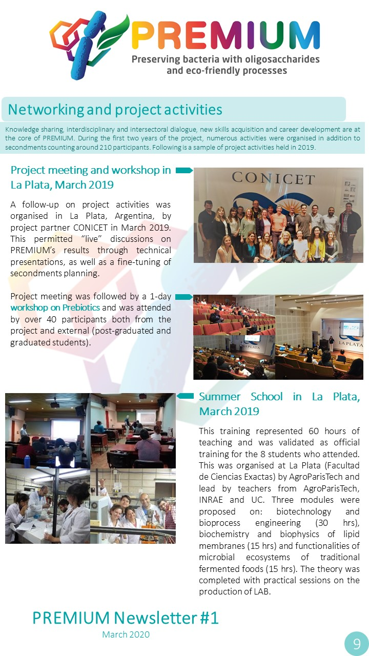 Page 9 - Networking and project activities
