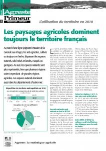 Couverture  Agreste Primeur n°260 - mars 2011