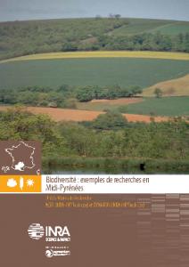 Travaux Biodiversité Midi-Pyrénées