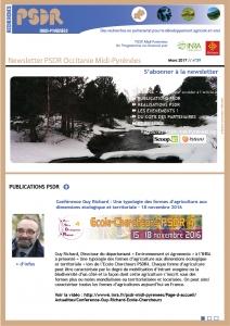 Newsletter n°39 // mars 2017