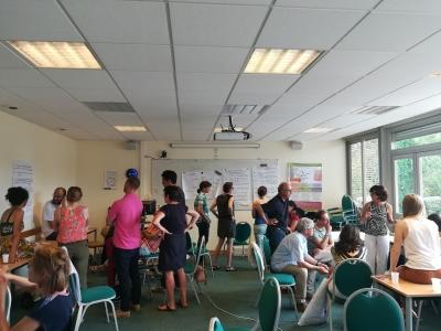 Atelier entre les participants de la journée ATA-RI