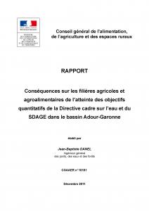 Couvreture rapport