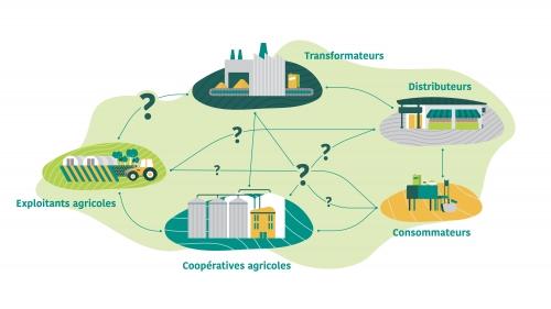Acteurs - filières agroalimentaires - territoire