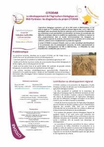 Couverture du 4-pages CITODAB