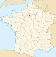 localisation du site expérimental QualiAgro (carte de France)