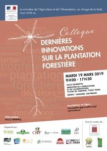 Flyer colloque plantation recto