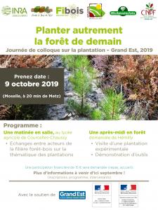 Plantez autrement la forêt de demain Moselle 09/10/2019