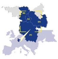Carte de la Grande Région