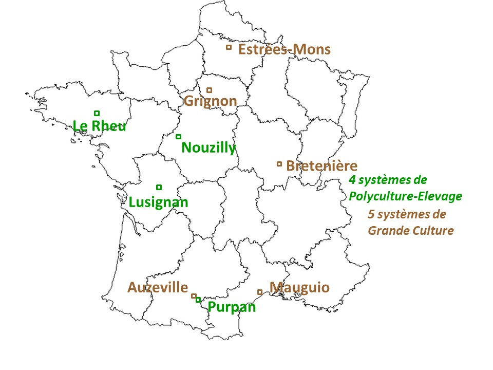 Carte du réseau Rés0Pest
