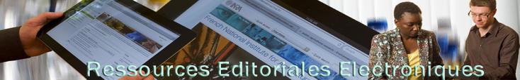 Bienvenue sur le portail des ressources éditoriales électroniques de l'INRA
