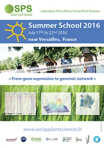 SPS Summer School 2016 - From gene expression to genomic network