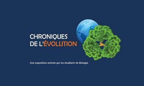 Exposition « Chroniques de l'Evolution »