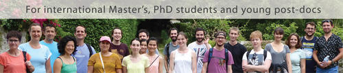 For international Master's, PhD students and young post-docs