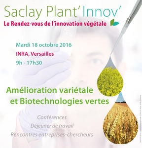 Affiche Saclay Plant'Innov' 2016