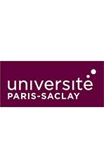 Logo Université Paris-Saclay Tour blanc
