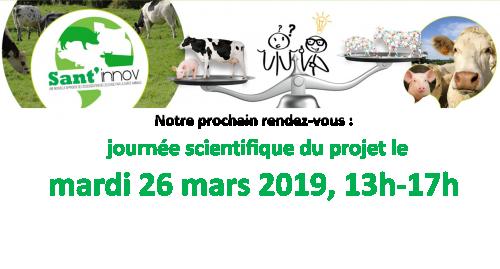 Journée Sant'innov ouverte à tous les professionnels de santé animale : 26 mars 2019