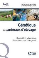 Ouvrage Quae « Génétique des animaux d'élevage – Diversité et adaptation dans un monde changeant »