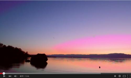 vidéo suivi des lacs alpins