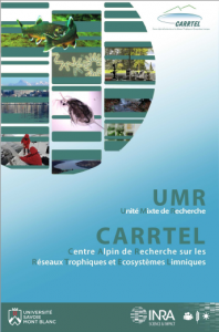 plaquette de présentation de l'UMR CARRTEL