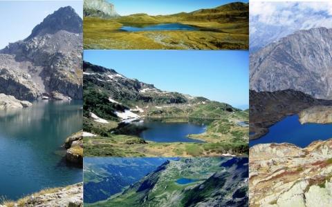 les lacs d'altitude