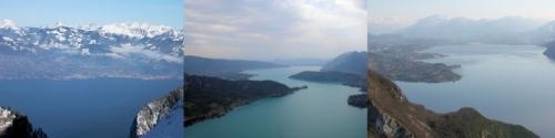 Les quatre grands lacs périalpins