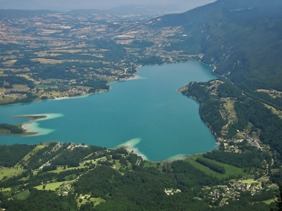 Lac Aiguebelette Panoramique