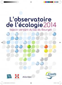 Cahier de l'observatoire du lac du Bourget 2014