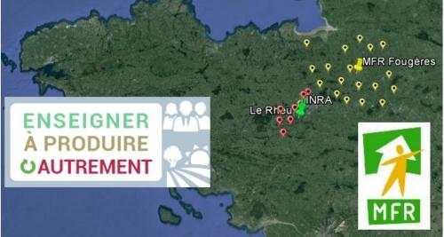 Un réseau impliquant agriculteurs et étudiants