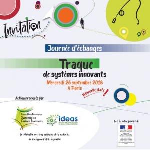 Journée d'échangesTRAQUE systèmes innovants