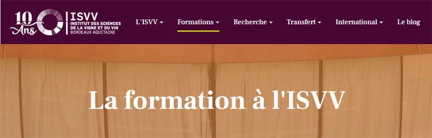 formation ISVV2