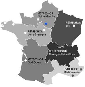Carte unités régionales