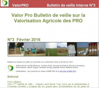 Bulletin de veille 3 (2017)