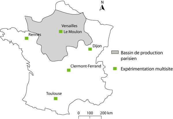 Cartographie de la situation des expérimentations