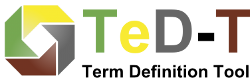 TeD-T, the Term Definition Tool of the Data Foundation and Terminology Interest Group (DFT IG) of the Research Data Alliance (RDA)